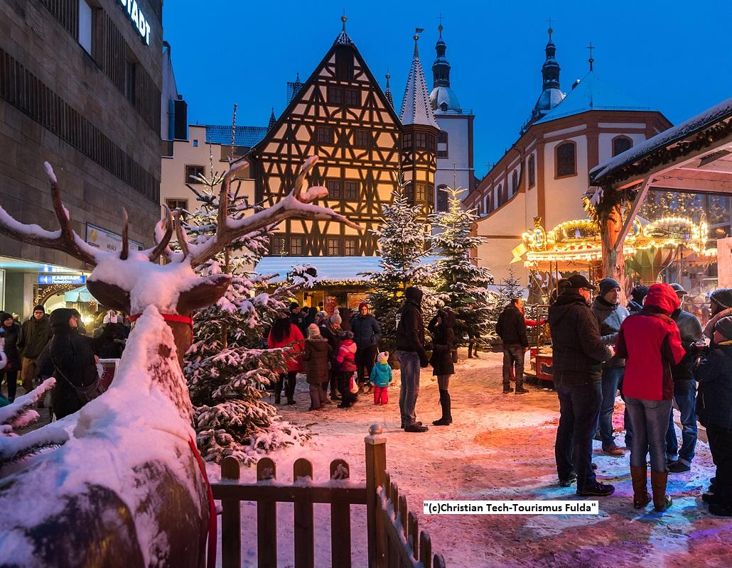 Weihnachtsmarkt Fulda 2021 öffnungszeiten