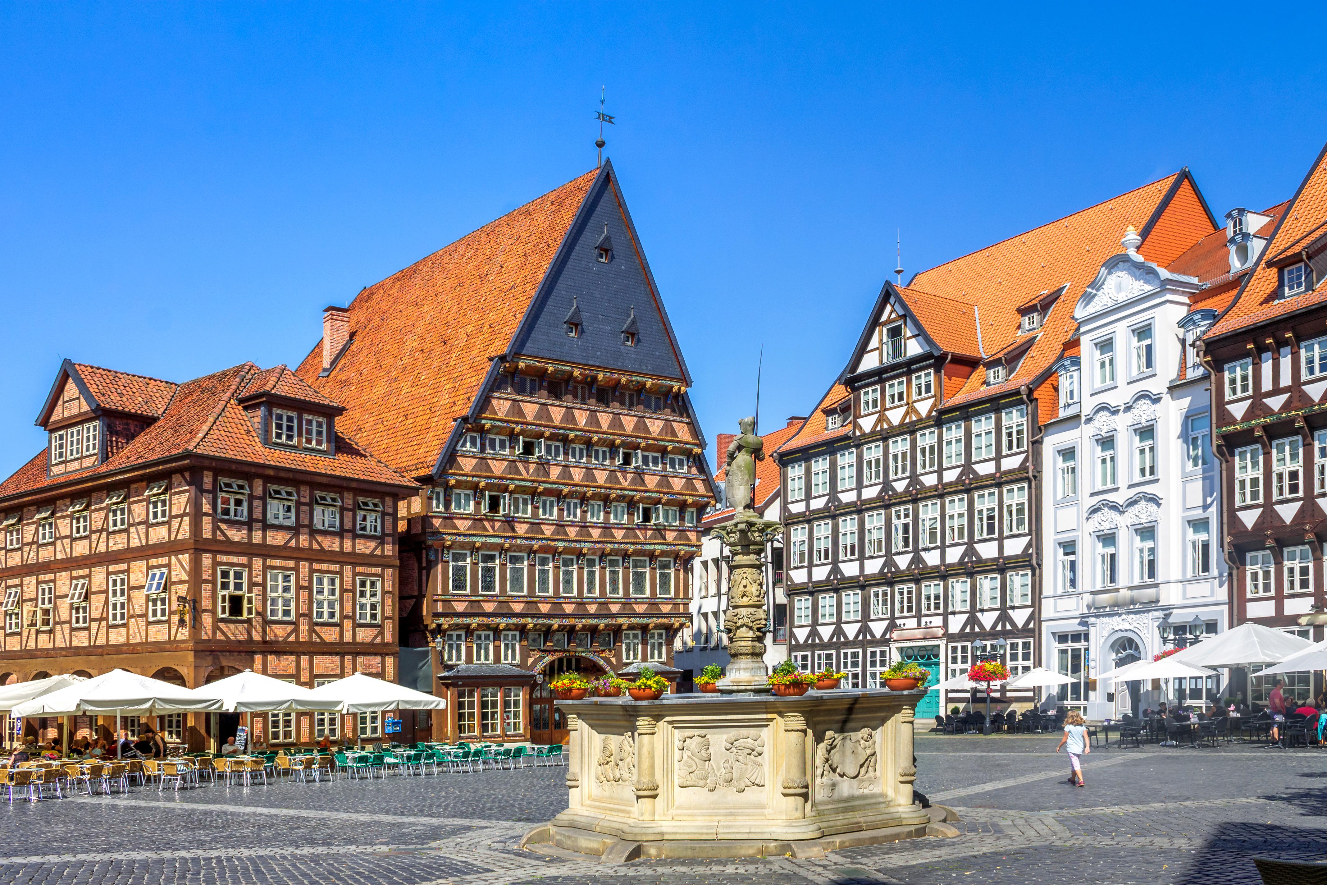 Hildesheim, Marktplatz,